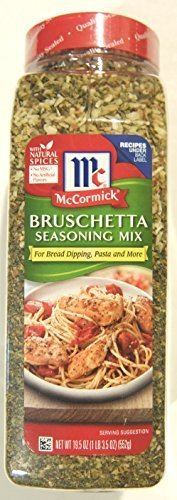 McCormick Bruschetta Seasoning Mix (19.5 ounce shaker) by McCormick
