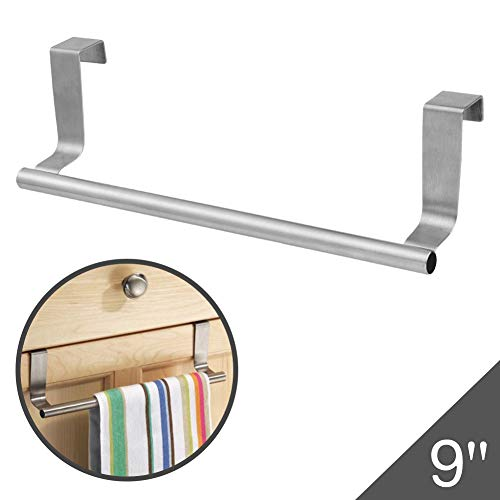 h Towel Bar Rack Hanger Holder Stainless Steel with 22 Lbs Maximum Load - Effortless Installation on Any Bathroom and Kitchen ()