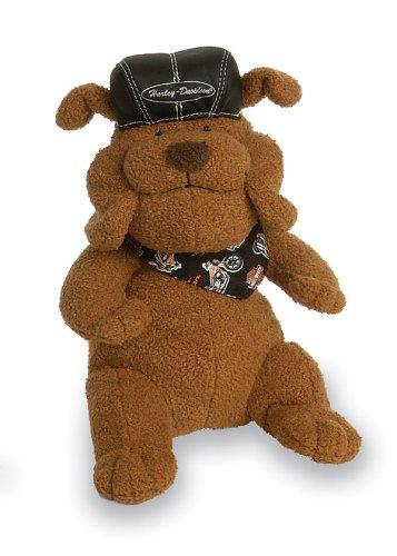 Harley-Davidson Biker Club Plush Dog - (Biker Teddy Bear)