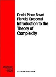 Introduction of the Theory of Complexity (Prentice Hall International Series in Computer Science)