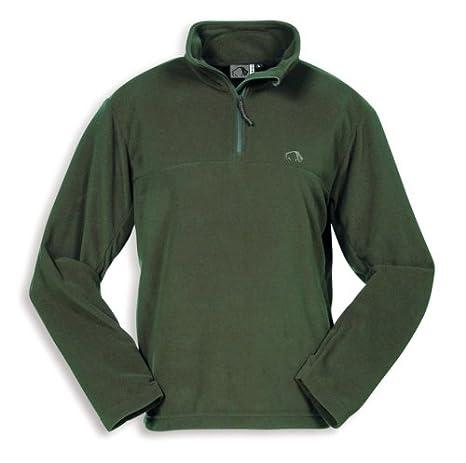 Tatonka Essential Herren Moose Pullover Fleece Pullover dark moss