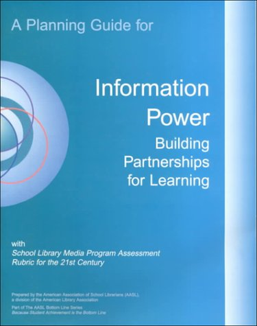Guidelines for School Library Media Programs A Planning Guide for Information Power