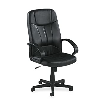 Captivating LLR60120   Lorell Chadwick Executive Leather High Back Chair