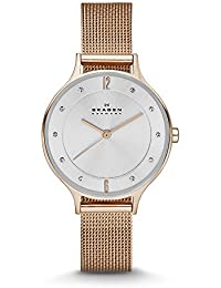 Women's SKW2151 Anita Rose Gold Mesh Watch