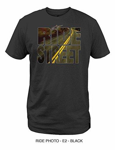 ALPINESTARS Tee T-Shirt Ride Photo Black XL ()