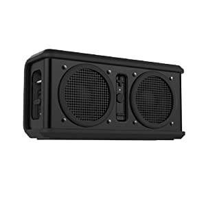 Skullcandy Air Raid Water-resistant Drop Proof Bluetooth Portable Speaker, Black