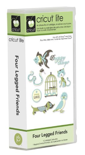 Cricut Lite Cartridge - Four Legged Friends