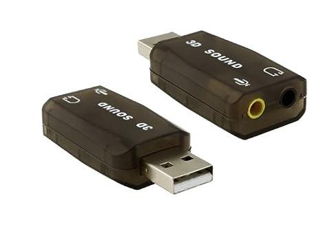 Importer520 humo color USB tarjeta de sonido adaptador para ...
