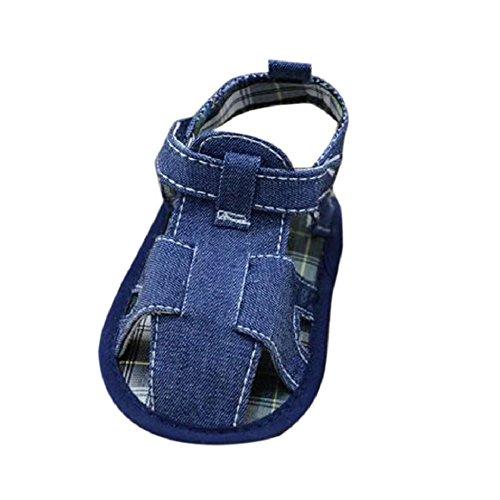 Zapatos de Bebé,Xinantime Niños del Bebé Sandalias Vaquero Sólido Recién Nacido (11)