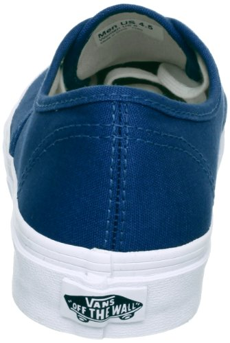 Vans U AUTHENTIC SLIM DARK DENIM/TRUE - Zapatillas de cuero unisex azul - Blau (dark denim/true)