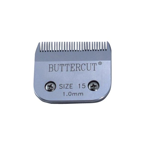 Geib Buttercut Stainless Steel Dog Clipper Blade, Size-15, 3 64-Inch Cut Length