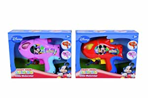 Simba Smoby Mickey - Juego de 2 pistolas de agua, color azul y rosa