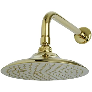 Exceptionnel Kingston Brass K136A2CK Victorian 8 Inch Diameter Brass Showerhead With  12 Inch Shower Arm