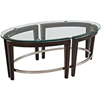 Magnussen Carmen Oval Cocktail Table