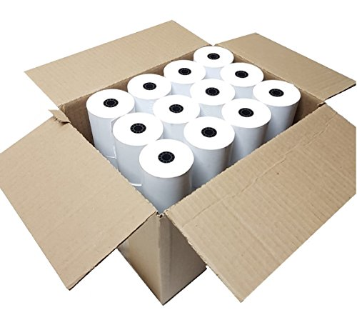 BAM POS Thermal Paper Rolls 3 1/8 x 230 Eco Pack (36 Rolls) by BAM POS