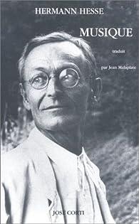 Musique par Hermann Hesse