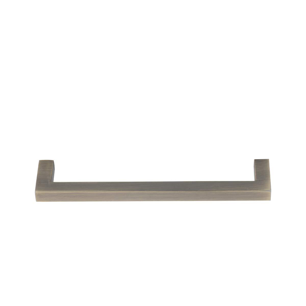 Basics Tirador de armario 12,7 cm centro del agujero AB3702-BB-10 lat/ón cepillado 14 cm de longitud