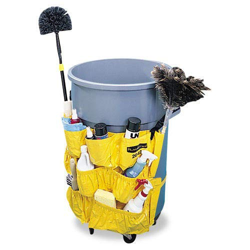 Rubbermaid RCP264200YW Commercial 264200Yw - Brute Caddy Bag, Yellow School Specialty - Education