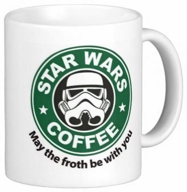 Star Wars - May the Froth Be With You - 11 Ounce Coffee Mug