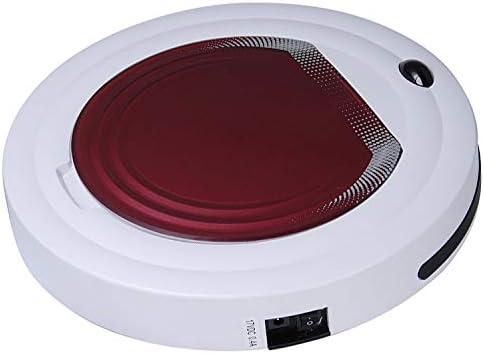 Qazwsxedc pour Vous SyyTC-350 Intelligent Aspirateur Robot de Nettoyage ménagers Balayer avec télécommande (Orange) (Couleur : Purple) Red
