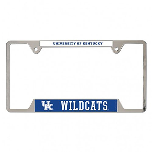 Frame Plate License University (WinCraft, NCAA, University of Kentucky Wildcats, Metal License Plate Frame - 21600016)