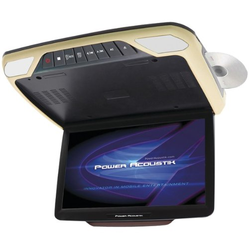 POWER ACOUSTIK PMD_143H 14.3inin Ceiling-Mount DVD Entertainment System with 3 Interchangeable Color Skins & Mobile Link (Link Power Acoustik Mobile)