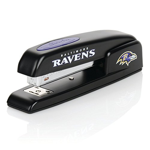 Baltimore Ravens Stapler, NFL, Swingline 747, Staples 25 Sheets (S7074058)