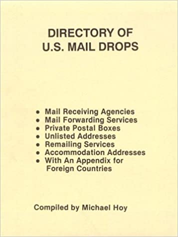 Bøger til download gratis til kindle Directory Of U.S. Mail Drops (New Id & Personal Freedom) RTF