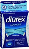 Diurex Diuretic AquaGels, 20 Count For Sale