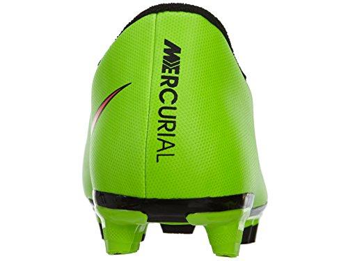 NIKE Mercurial Vortex II FG–Electric Green/Hyper Punch de BLK