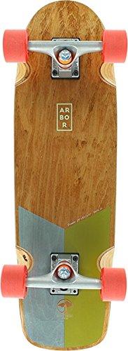 Arbor Skateboards Foundation Series Pilsner Cruiser Complete Skateboard - 8.25'' x 29'' by Arbor