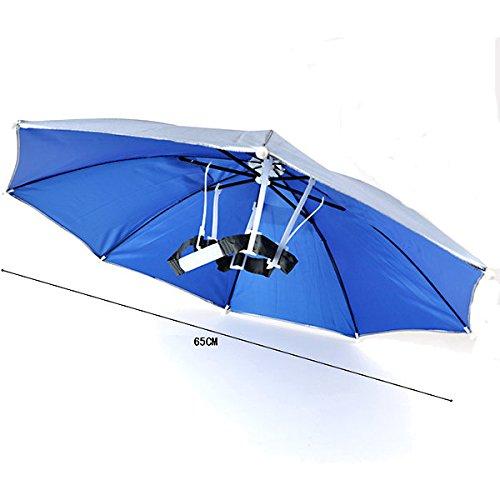 Tools & Equipments Chair & Umbrella - Windproof Summer Fishing Camping Hiking Foldable Sun Umbrella Headwear