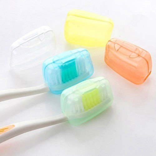 Money coming shop Vorkin 5pc/lot Toothbrush Cover Brush Cap Case Portable Travel Hiking Camping Free Shipping