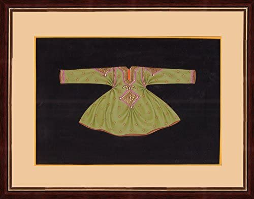 Splendid Indian Art Relieve rajasthani siglo 18 la pintura traje ...