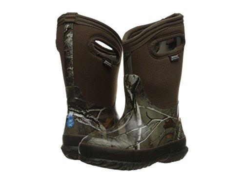 Bogs Classic Camo Rain Boot, Real Tree, 3 M US Little Kid (Camo Kids Boots)
