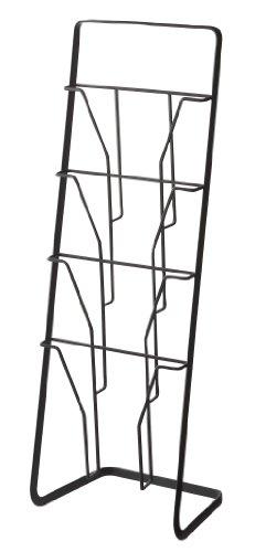 YAMAZAKI home Tower Magazine Rack, Black