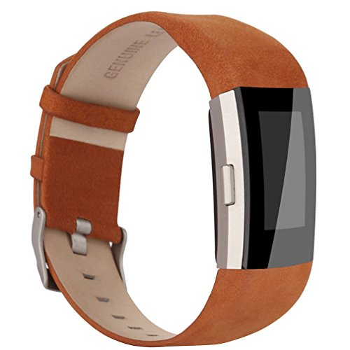 AK Fitbit Leather Replacement Genuine