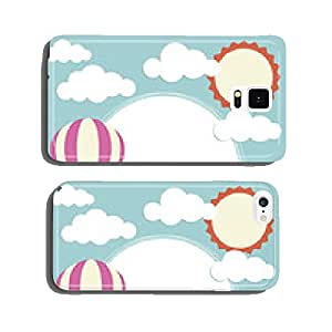 Hot Air Balloon and Clouds cell phone cover case iPhone6 Plus