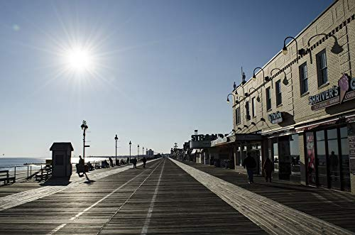 Home Comforts Laminated Poster Ocean City New Jersey Beach Jersey Shore Boardwalk Vivid Imagery Poster Print 24 x 36