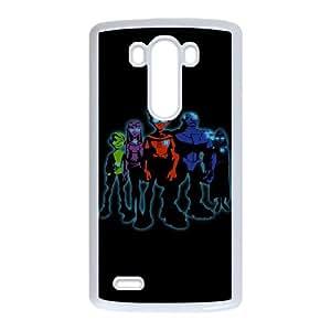 Teen Titans LG G3 Cell Phone Case White DIY Gift zhm004_0469914