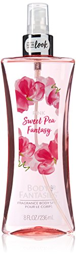 (Body Fantasies Signature Pink Sweet Pea Fantasy Body Spray for Women, 8 Ounce)