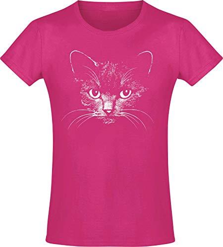 Meisjes T-shirt: Kat – Katten – Baby Kitty Kitten – Schattig – Cat Cats Kater – Schattig – Dieren – Verjaardag Shirt…