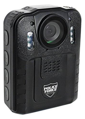 Streetwise Security Products PFBCPRO Police Force Tactical Body Camera Pro, Black