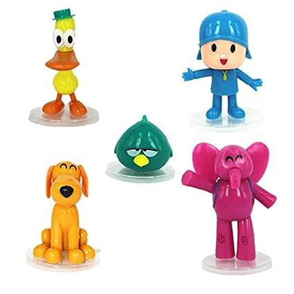 Amazon.com: youco Pocoyo Juguetes Set de dibujos animados ...