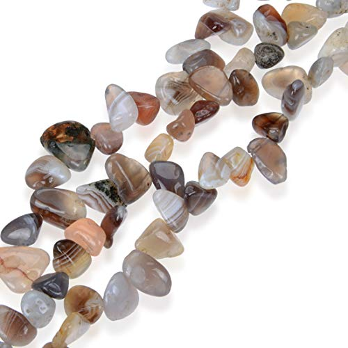 AAA Natural Botswana Agate Gemstones Smooth Teardrop Loose Beads Free-form ~18x10mm beads ( ~16