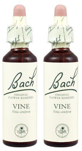 Bach Flower Remedies Vine - (2 Pack) - Bach Original Flower Remedies - Vine | 20ml | 2 PACK BUNDLE