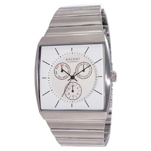 Axcent x11123 – 632 cuadrado reloj para hombre