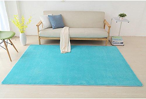 "Price comparison product image HIGOGOGO Living & Bedroom Soft Area Rug Sofa Carpet Yoga MatNon-Skid Eco-Friendly Throw Carpet(63""94"")"