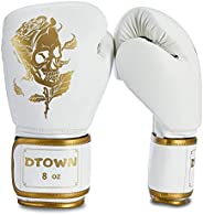 Dtown Boxing Gloves for Women & Men, Youth Kickboxing Training Gloves for MMA, Punching Bag Gloves, Muay T