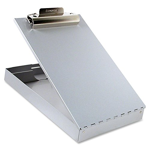 2 x Saunders 11017 Recycled Aluminum Redi-Rite Storage Clipboard - Letter Size - 8.5 x 12 inches